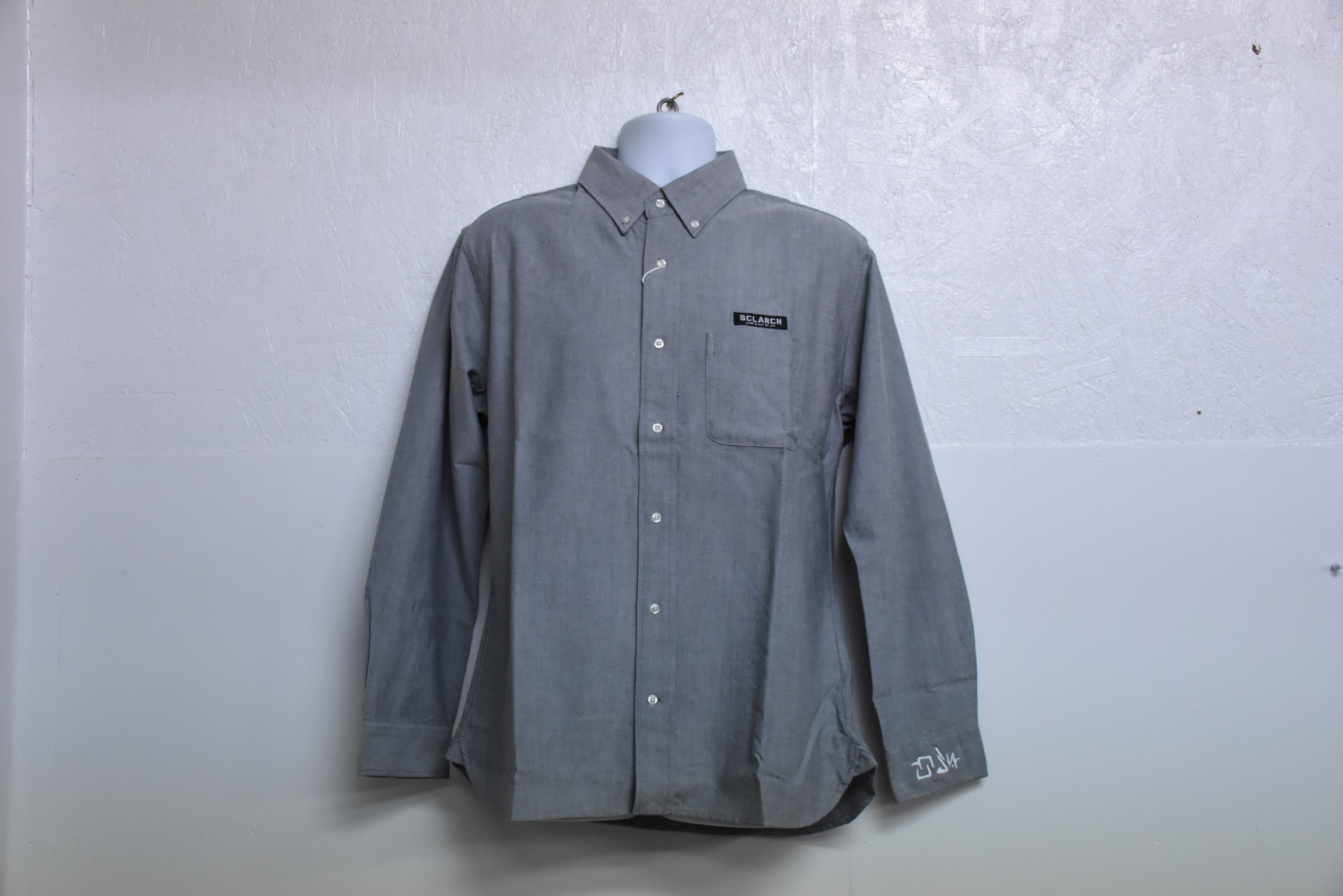 SCLARCH LONG_SLEEVE_SHIRT_GRAY