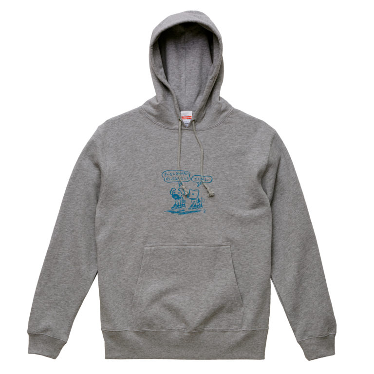 Bow_wow_PULLOVER_GRAY