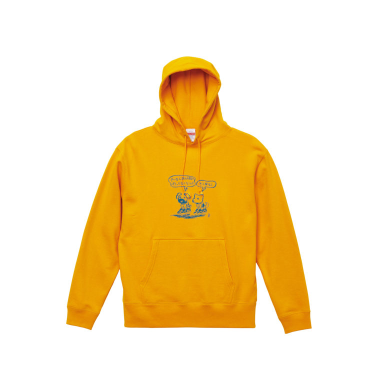 Bow_wow_PULLOVER_GOLD