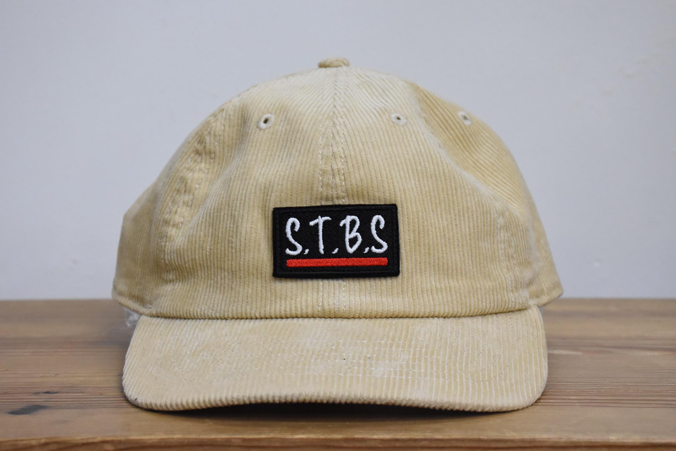 STARRBOS_CORDUROY_CAP_BEIGE