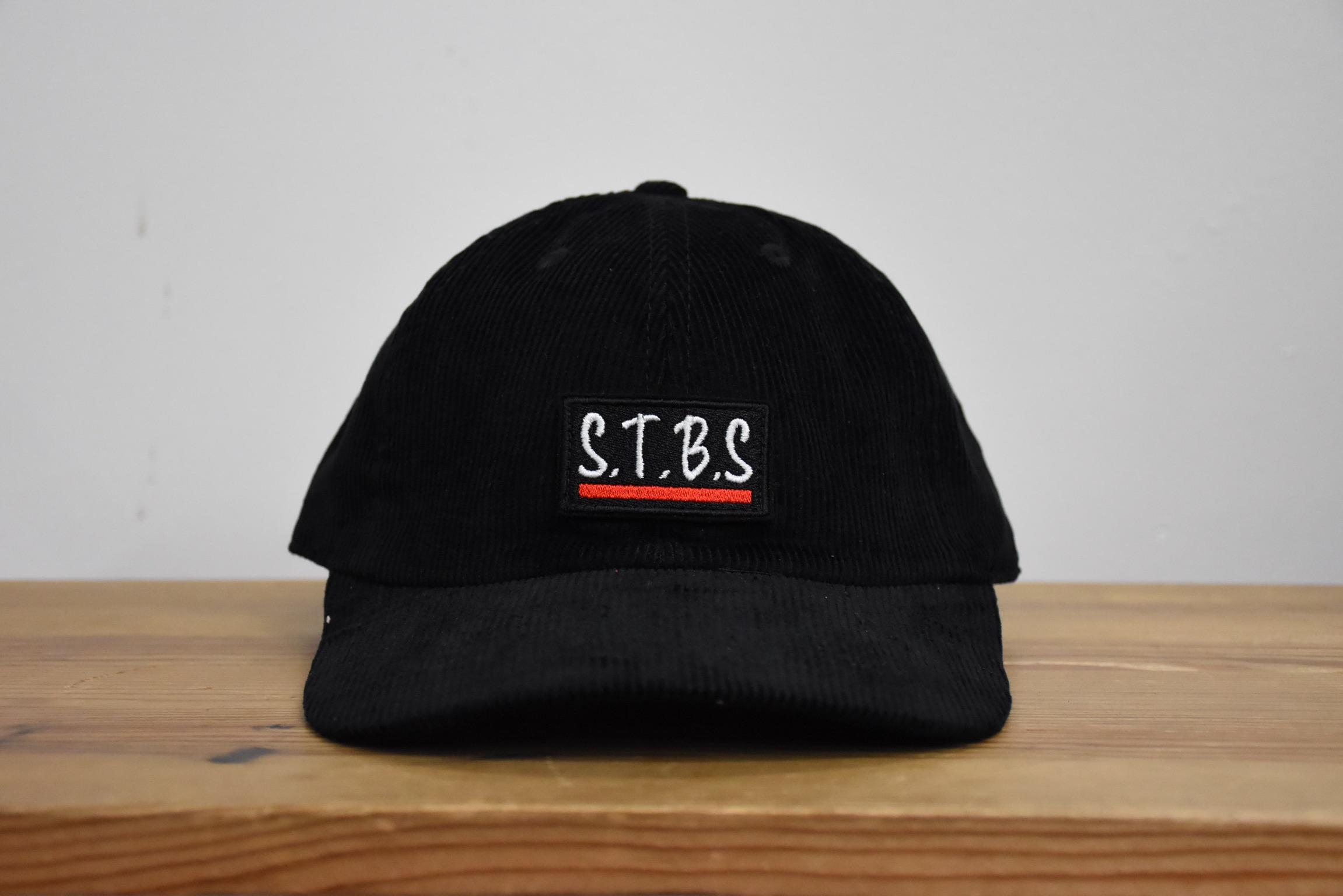 STARRBROS_CORDUROY_CAP_BLACK