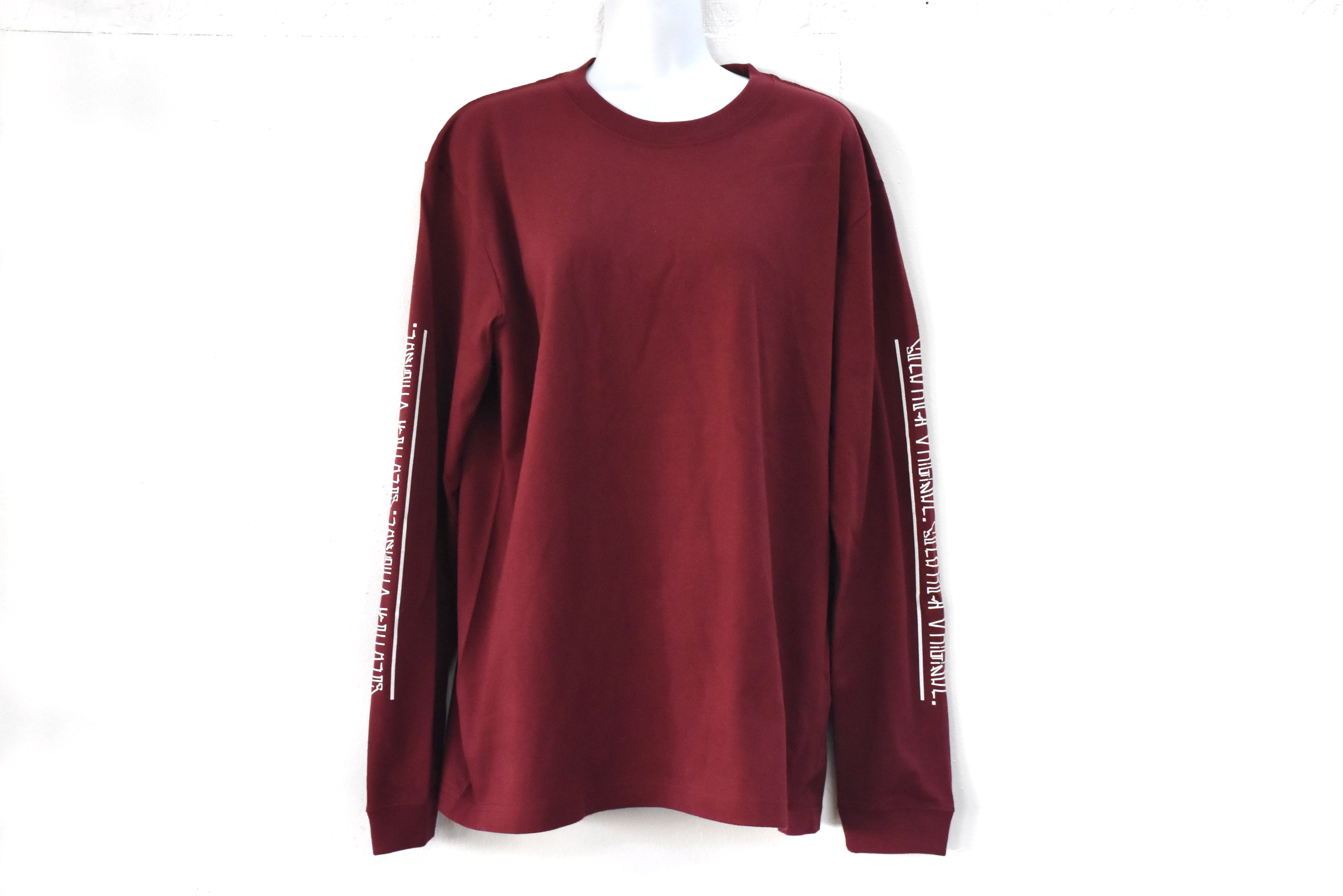 SCLARCH_NAME_LONG_TEE_BURGUNDY