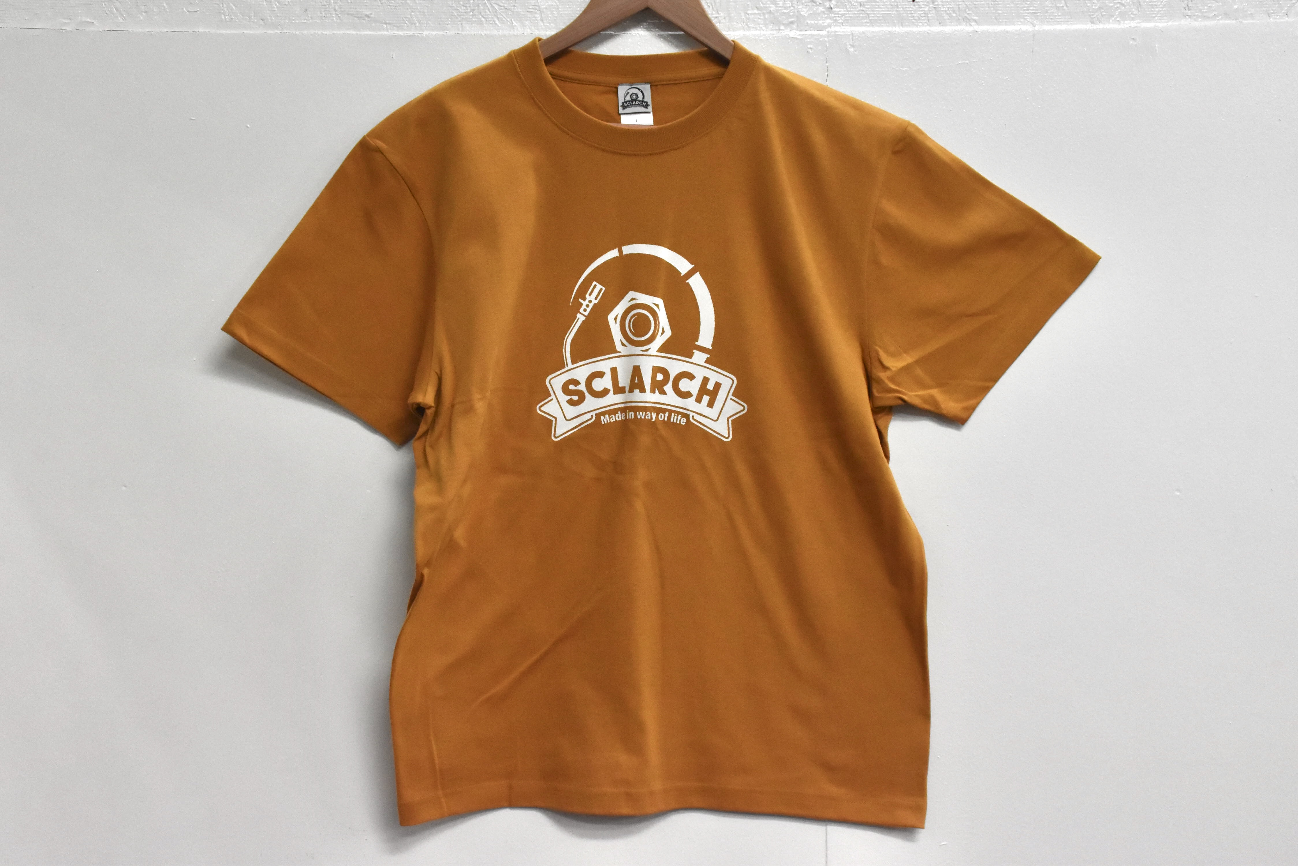 SCLARCH_CLASSIC_LOGO_TEE_CAMEL