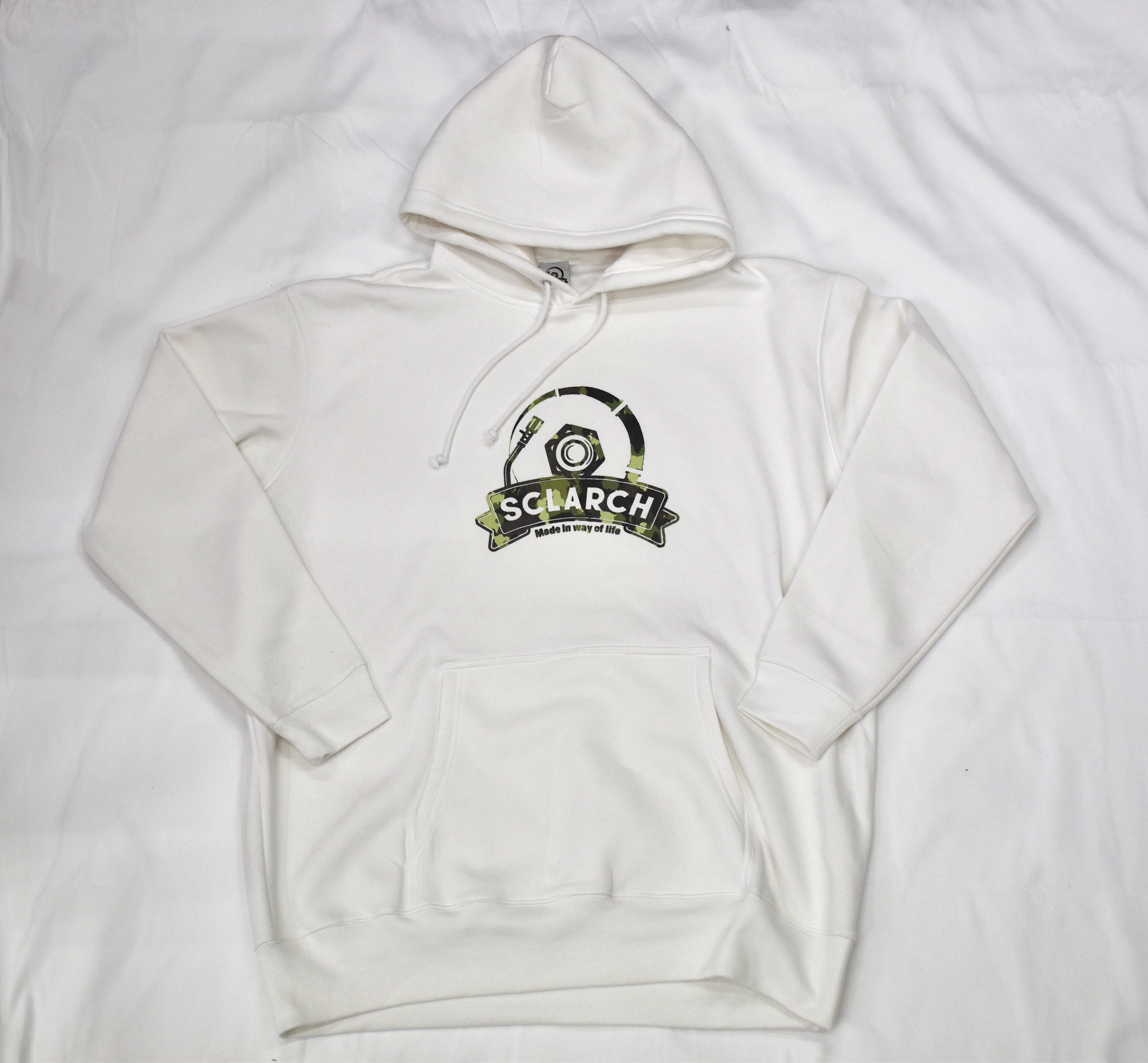 SCLARCH_CLASSIC_LOGO_HOODIE_2020_WHITE