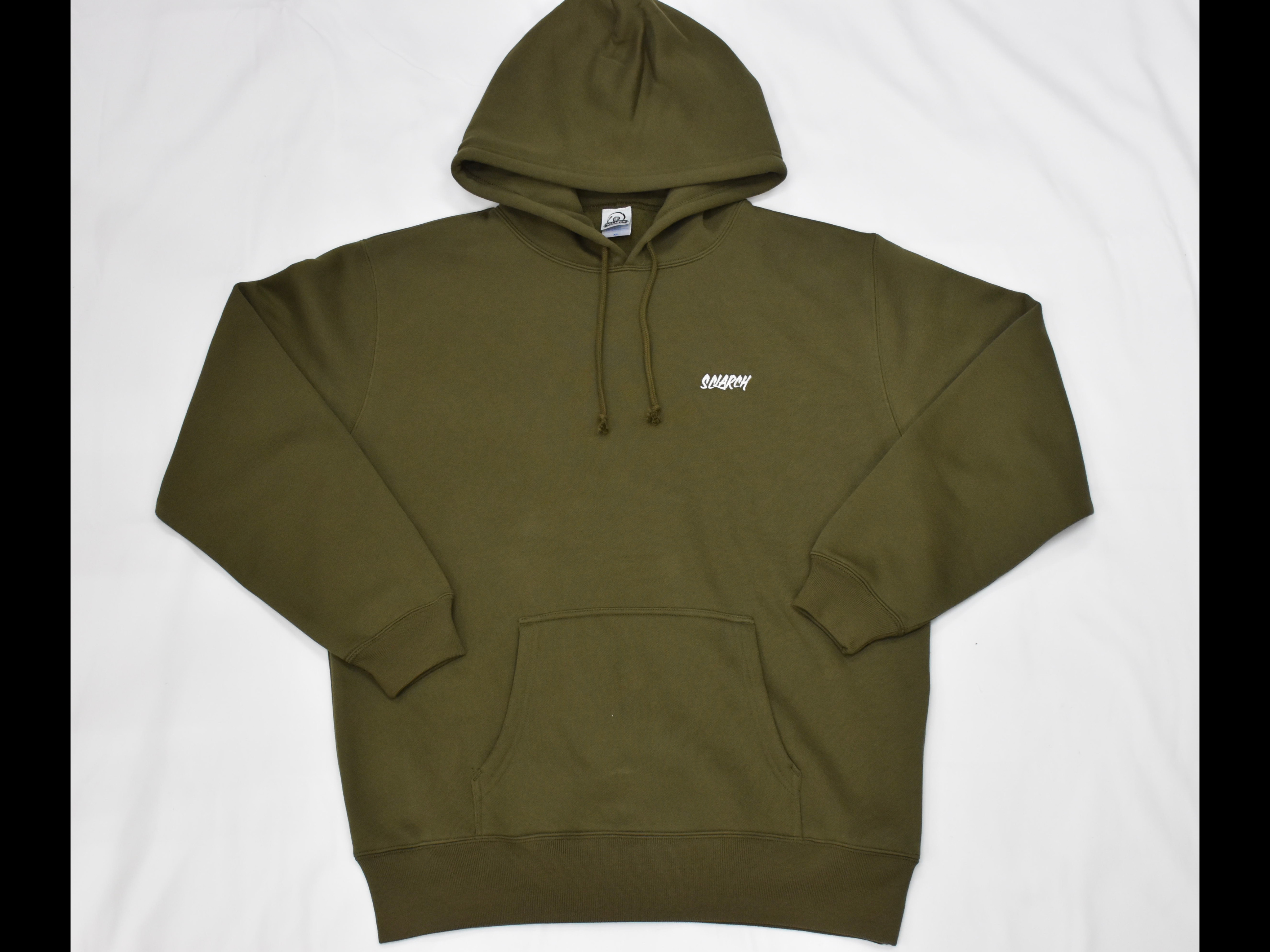 SCLARCH_EMBROIDERY_HOODIE_OLIVE
