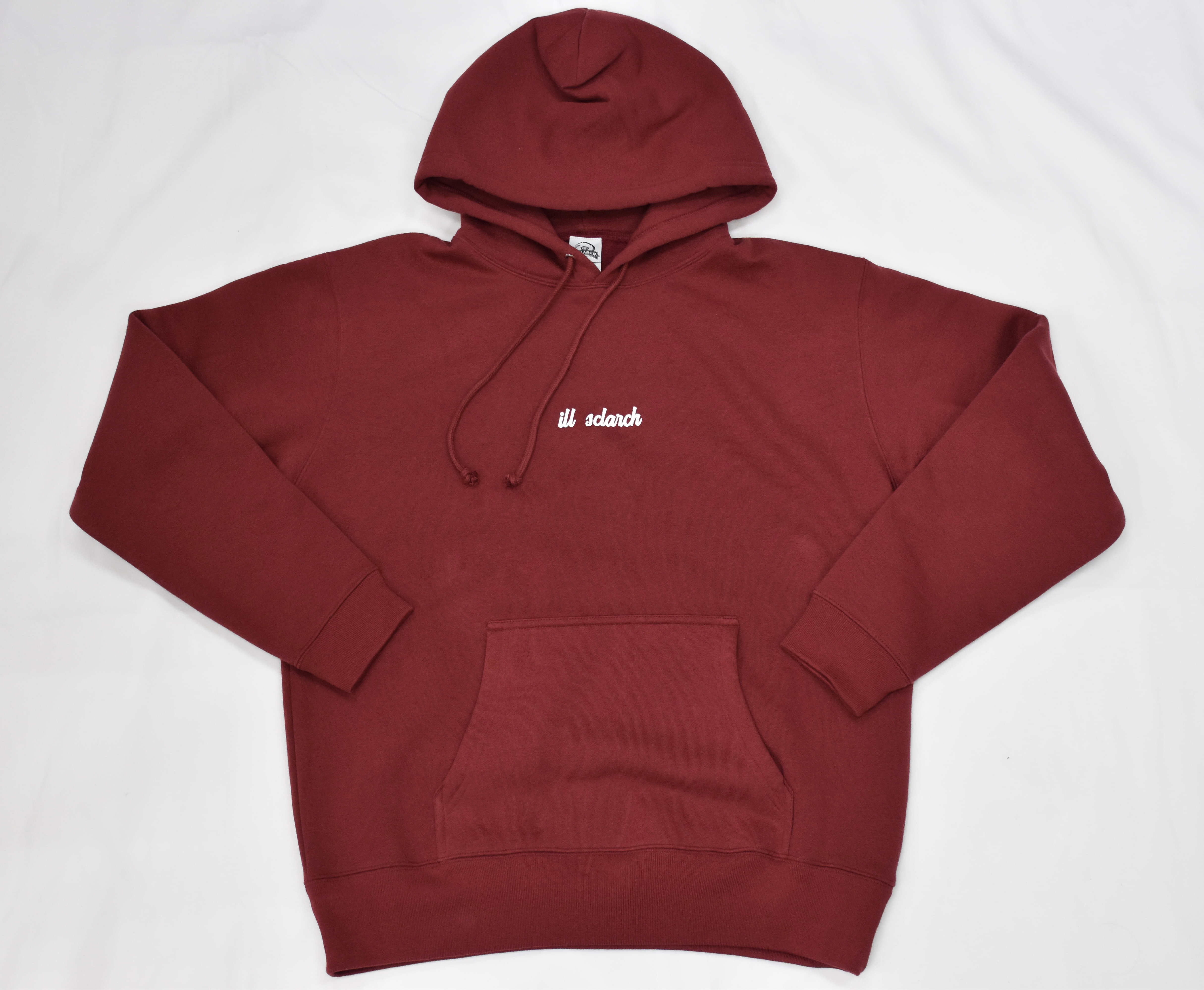 SCLARCH_ILL_HOODIE_BURGUNDY