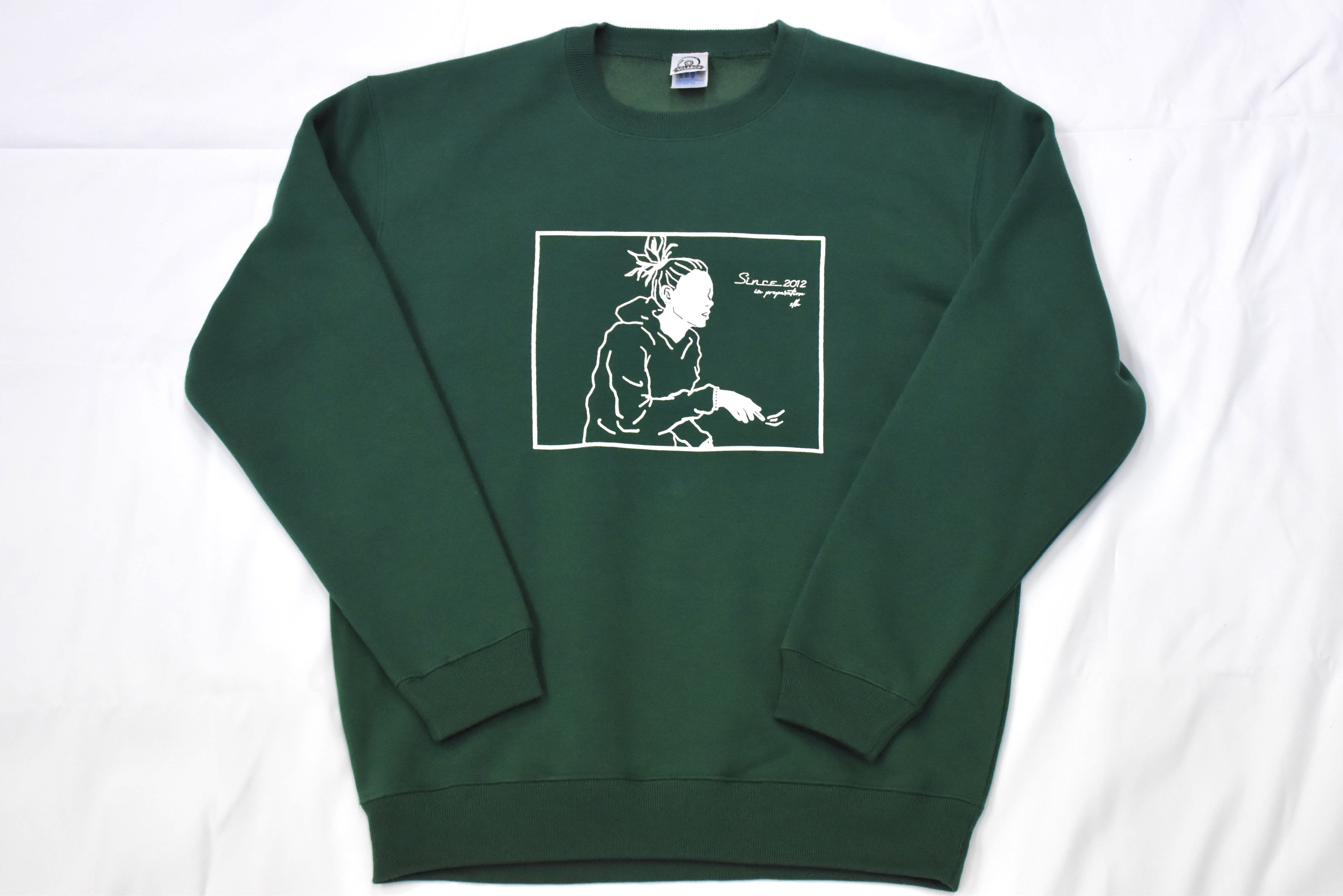 SCLARCH_MESSAGE_SWEAT_GREEN