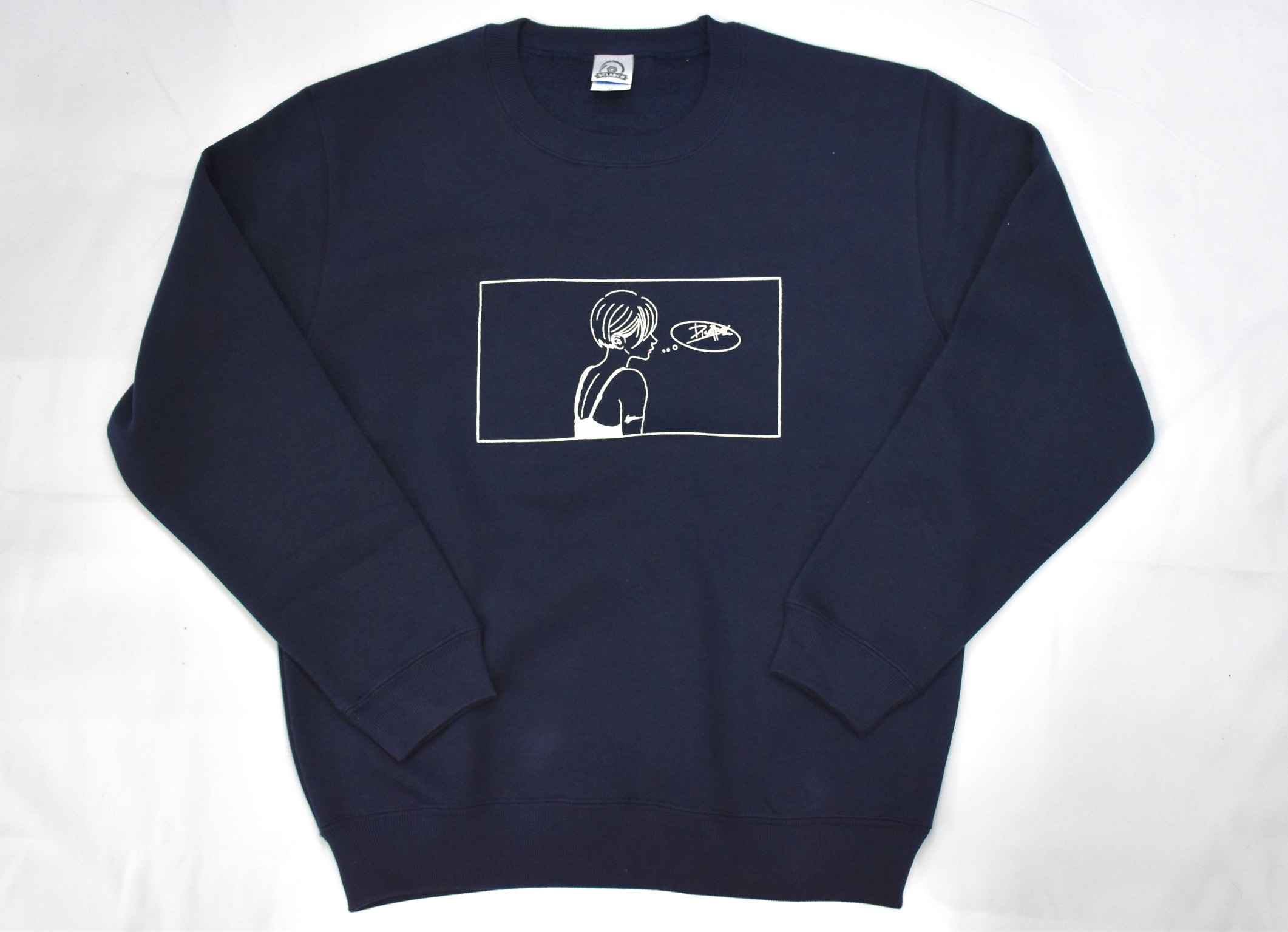 SCLARCH_DISAPPEAR_SWEAT_NAVY