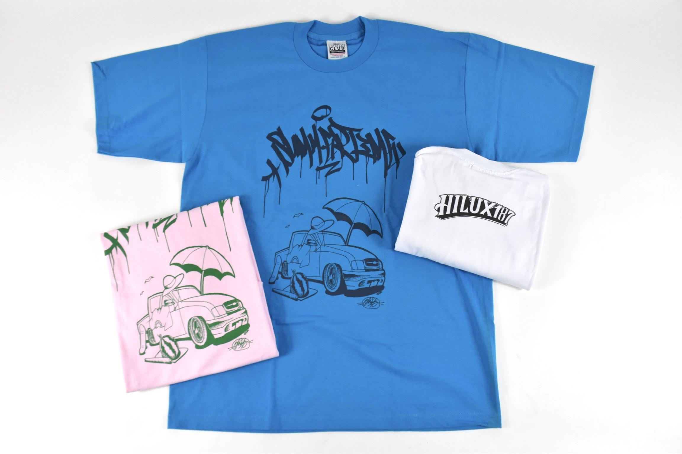 HILUX187_SUMMER_TIME_TEE